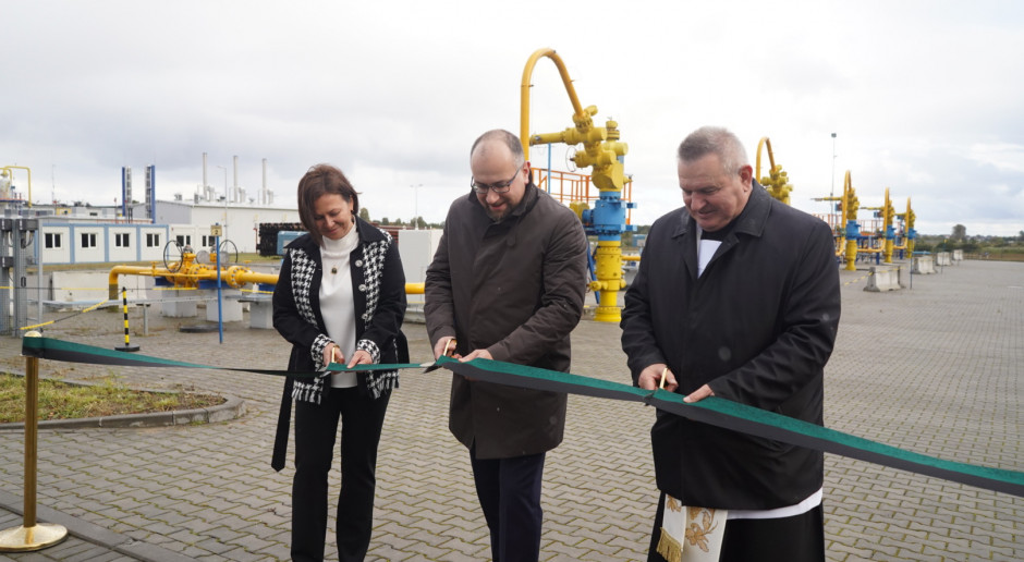 Powiększył się magazyn gazu w Kosakowie koło Gdyni