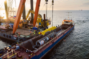 Najbardziej wrażliwe odcinki Baltic Pipe ukończone