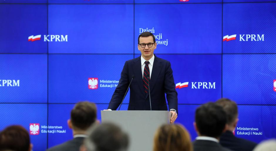 Morawiecki: W 2021 r. dochody z VAT powinny przekroczyć 210 mld zł