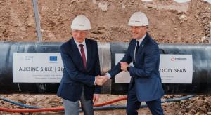 """""""Złoty spaw"""" na połączeniu gazowym Polski i Litwy"""