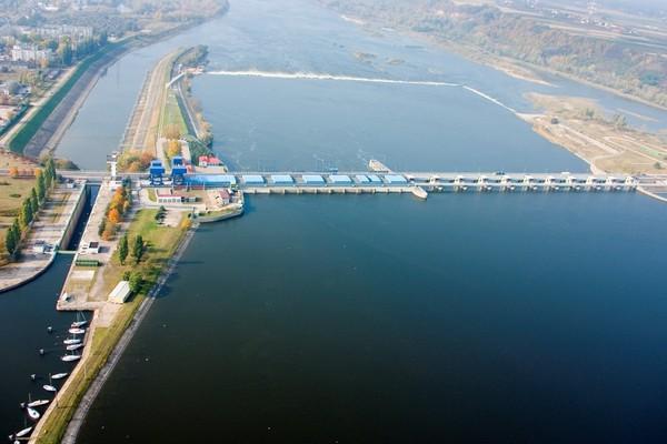 Rozpoczyna się modernizacja tamy i zbiornika we Włocławku