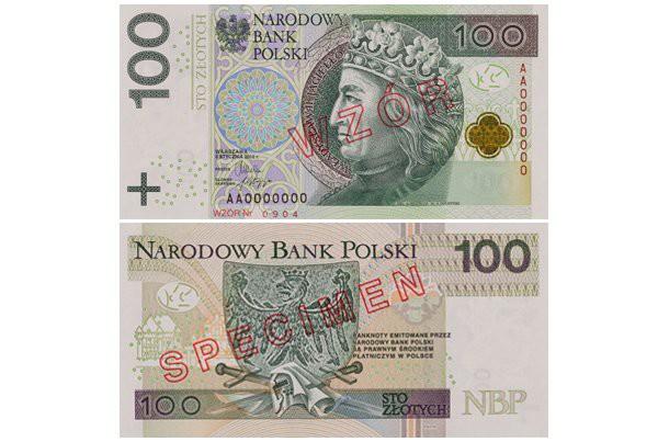 W kwietniu 2014 r. nowe zabezpieczenia na banknotach